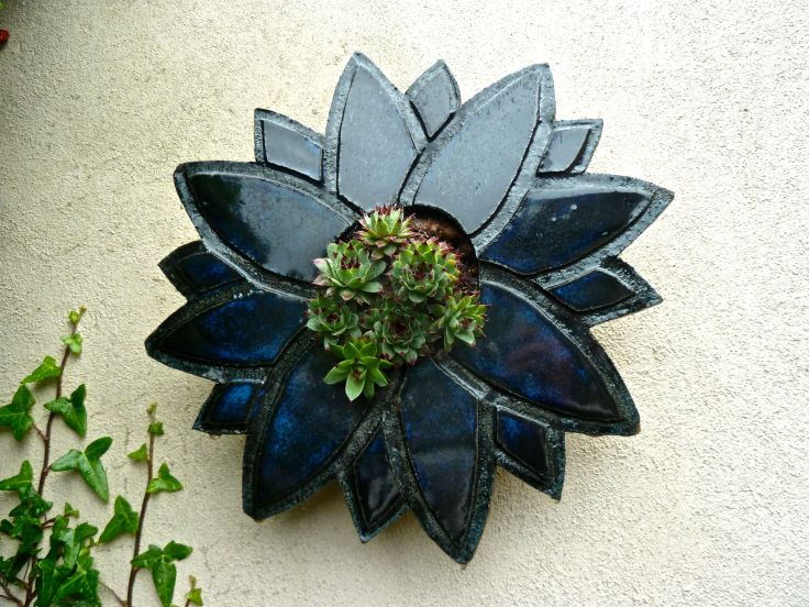 Planter on a wall